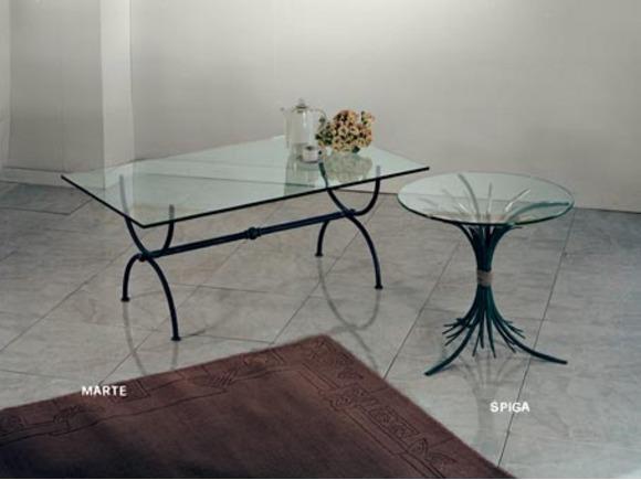 Tavoli marte e spiga tavoli e tavolini in ferro arte e stile