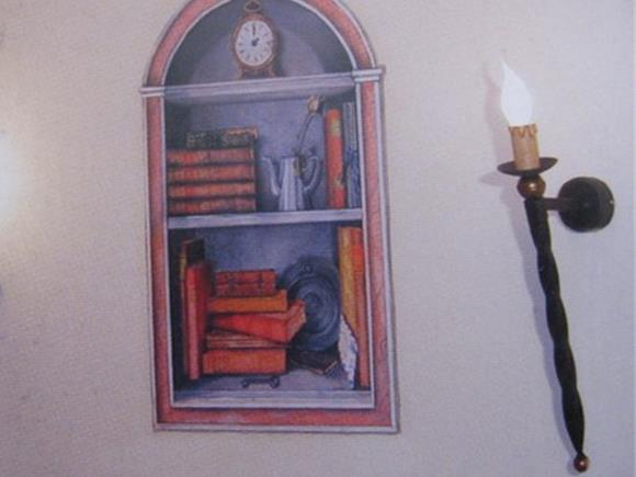 Applique torcia lampadari in ferro battuto arte e stile