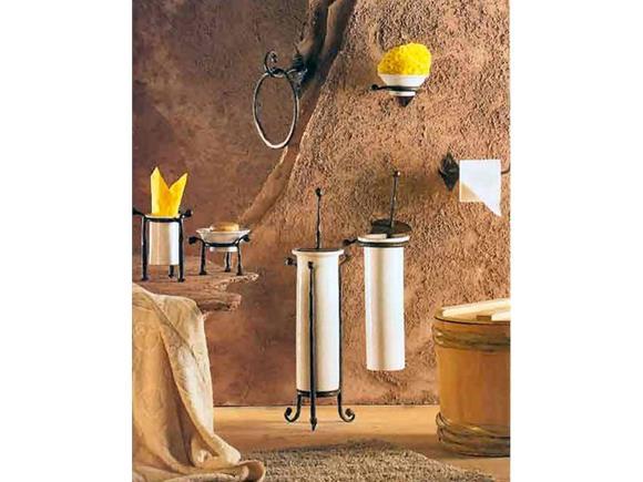 Accessori Da Bagno In Ferro Battuto : Set accessori bagno napoli arredo bagno in ferro battuto arte e