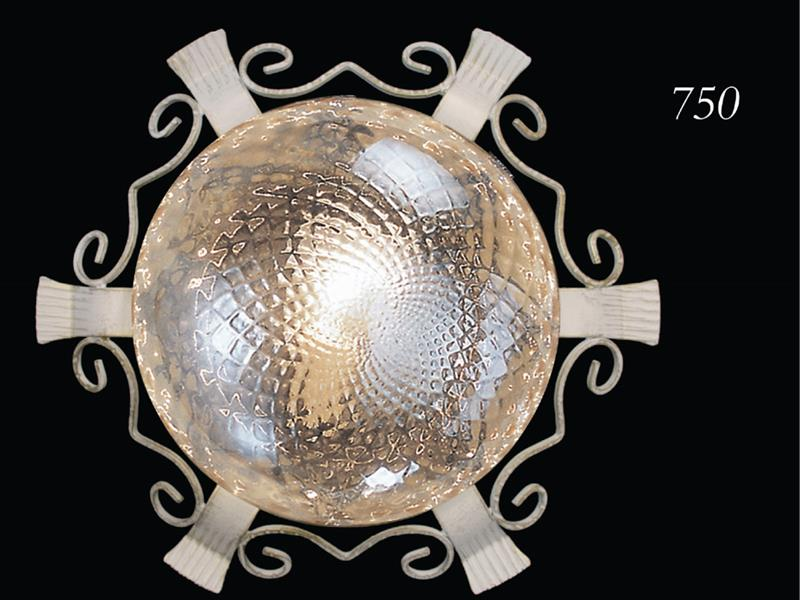 Plafoniera Ferro Battuto Nero : Lampadari collezione lux in ferro battuto arte e stile