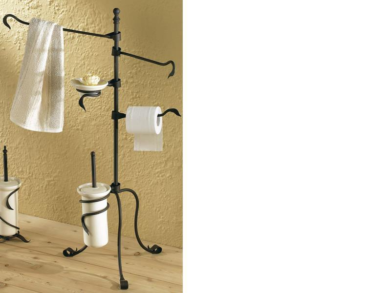 Arredo bagno collezione foglia arredo bagno in ferro - Mobile bagno ferro battuto ...