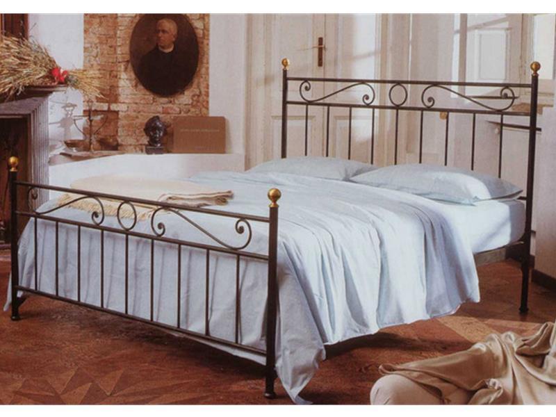 Letto bologna matrimoniale letti in ferro battuto arte - Testata letto ferro battuto ...