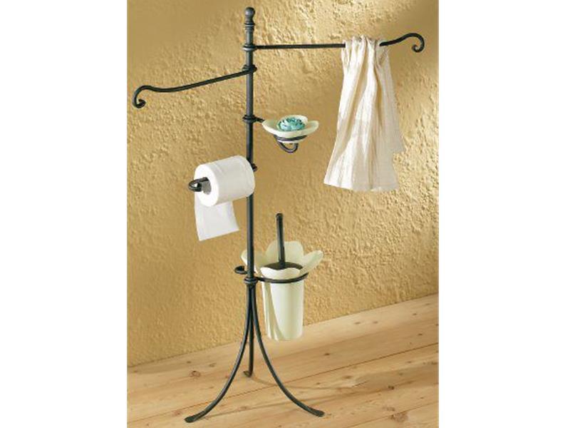 Arredo bagno collezione riccio arredo bagno in ferro battuto arte e stile - Accessori bagno in ferro battuto ...