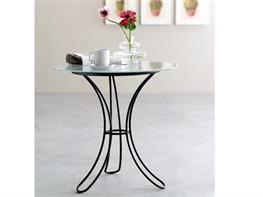 Tavolo Rotondo In Ferro Battuto E Vetro.Tavoli E Tavolini In Ferro Battuto Arte Stile