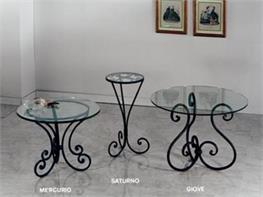 Tavolino Salotto Ferro Battuto.Tavoli E Tavolini In Ferro Battuto Arte Stile