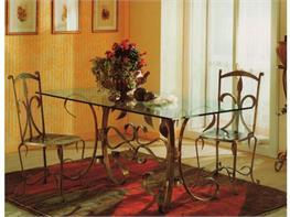Tavolini In Vetro E Ferro Battuto : Tavoli e tavolini in ferro battuto arte stile
