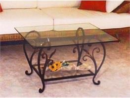 Tavoli e tavolini in ferro, Complementi d`arredo in ferro battuto da ...