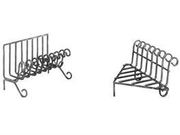 Portalegna varese accessori da camino arte e stile - Portalegna in ferro battuto ...